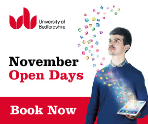 Open days at University of Bedfordshire