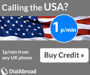 DialAbroad - cheap international calls from the UK to the USA