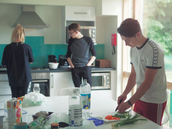 UEA Accommodation: Kitchen at The Village